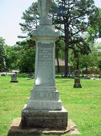 BLAKE, T. K. - Benton County, Arkansas | T. K. BLAKE - Arkansas Gravestone Photos