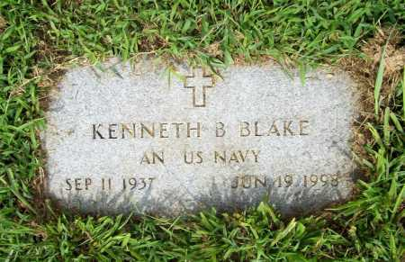 BLAKE (VETERAN), KENNETH B. - Benton County, Arkansas | KENNETH B. BLAKE (VETERAN) - Arkansas Gravestone Photos