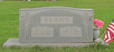 BLAND, ARTHUR - Benton County, Arkansas | ARTHUR BLAND - Arkansas Gravestone Photos