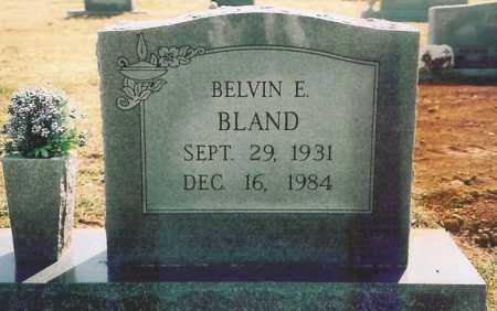 BLAND, BELVIN E. - Benton County, Arkansas | BELVIN E. BLAND - Arkansas Gravestone Photos