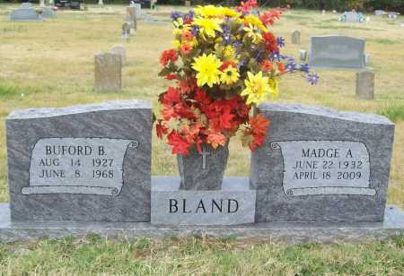 BLAND, BUFORD BUEL - Benton County, Arkansas | BUFORD BUEL BLAND - Arkansas Gravestone Photos