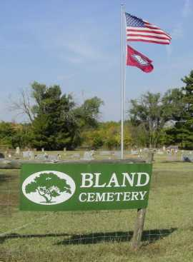 *BLAND CEMETERY,  - Benton County, Arkansas |  *BLAND CEMETERY - Arkansas Gravestone Photos
