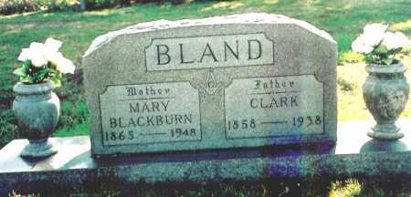 BLACKBURN BLAND, MARY C. - Benton County, Arkansas | MARY C. BLACKBURN BLAND - Arkansas Gravestone Photos