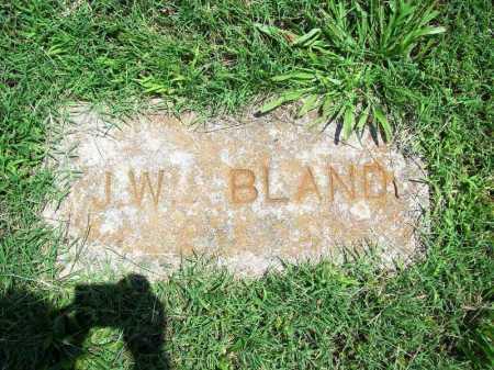 BLAND, J. W. - Benton County, Arkansas | J. W. BLAND - Arkansas Gravestone Photos