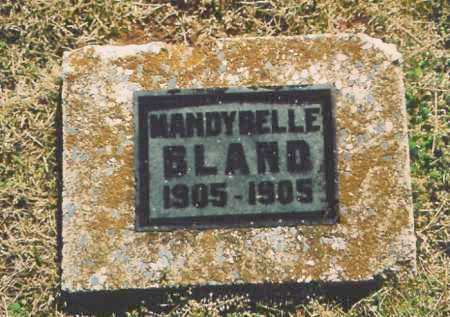 BLAND, MANDYBELLE - Benton County, Arkansas | MANDYBELLE BLAND - Arkansas Gravestone Photos
