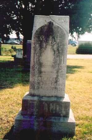 BLAND, SAMUEL M. - Benton County, Arkansas | SAMUEL M. BLAND - Arkansas Gravestone Photos