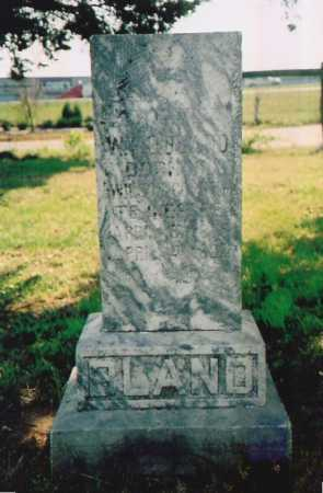 BLAND, WILLIAM LAFAYETTE - Benton County, Arkansas | WILLIAM LAFAYETTE BLAND - Arkansas Gravestone Photos