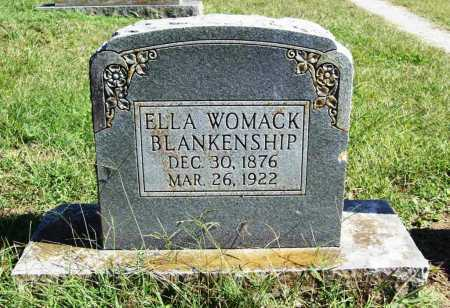 WOMACK BLANKENSHIP, ELLA - Benton County, Arkansas | ELLA WOMACK BLANKENSHIP - Arkansas Gravestone Photos