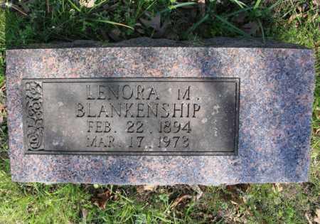 BLANKENSHIP, LENORA M. - Benton County, Arkansas | LENORA M. BLANKENSHIP - Arkansas Gravestone Photos