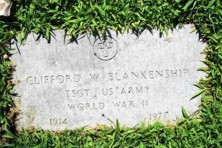 BLANKENSHIP (VETERAN WWII), CLIFFORD W. - Benton County, Arkansas | CLIFFORD W. BLANKENSHIP (VETERAN WWII) - Arkansas Gravestone Photos