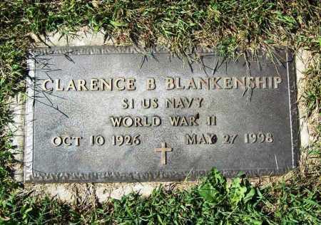 BLANKENSHIP (VETERAN WWII), CLARENCE B. - Benton County, Arkansas | CLARENCE B. BLANKENSHIP (VETERAN WWII) - Arkansas Gravestone Photos