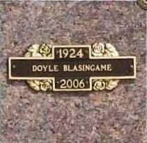 BLASINGAME (VETERAN WWII), DOYLE - Benton County, Arkansas | DOYLE BLASINGAME (VETERAN WWII) - Arkansas Gravestone Photos