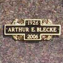 BLECKE (VETERAN), ARTHUR E. - Benton County, Arkansas | ARTHUR E. BLECKE (VETERAN) - Arkansas Gravestone Photos