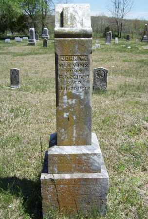 BLEVINS, JOHN W. - Benton County, Arkansas | JOHN W. BLEVINS - Arkansas Gravestone Photos