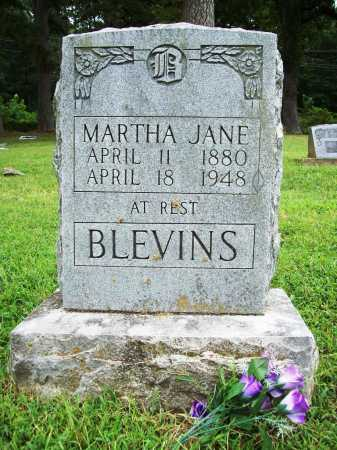 BLEVINS, MARTHA JANE - Benton County, Arkansas | MARTHA JANE BLEVINS - Arkansas Gravestone Photos