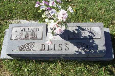 BLISS, E. MARIE - Benton County, Arkansas | E. MARIE BLISS - Arkansas Gravestone Photos