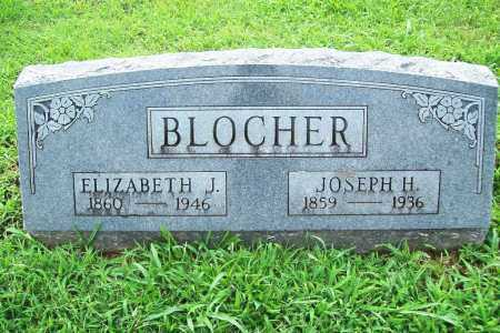 BLOCHER, JOSEPH H. - Benton County, Arkansas | JOSEPH H. BLOCHER - Arkansas Gravestone Photos