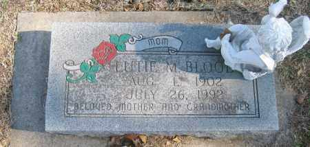 BLOOD, LUTIE M. - Benton County, Arkansas | LUTIE M. BLOOD - Arkansas Gravestone Photos