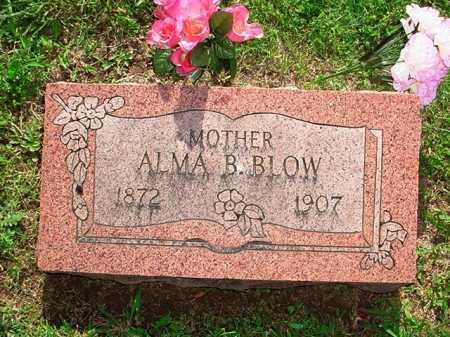 BLOW, ALMA B. - Benton County, Arkansas | ALMA B. BLOW - Arkansas Gravestone Photos