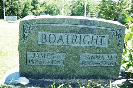 BOATRIGHT, JAMES F. - Benton County, Arkansas | JAMES F. BOATRIGHT - Arkansas Gravestone Photos
