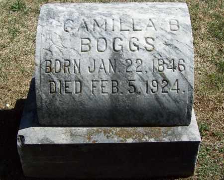 BOGGS, CAMILLA ISABELLA - Benton County, Arkansas | CAMILLA ISABELLA BOGGS - Arkansas Gravestone Photos