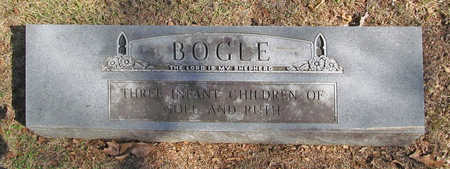 BOGLE, INFANT CHILDREN - Benton County, Arkansas | INFANT CHILDREN BOGLE - Arkansas Gravestone Photos