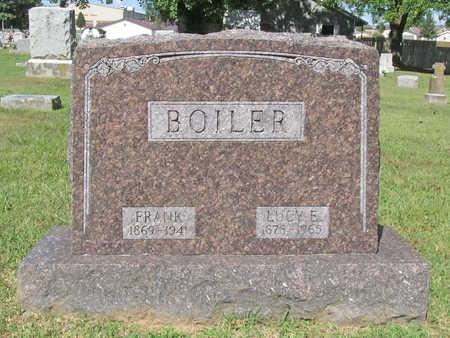 BOILER, LUCY E. - Benton County, Arkansas | LUCY E. BOILER - Arkansas Gravestone Photos