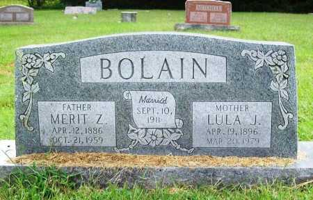 BOLAIN, MERIT Z. - Benton County, Arkansas | MERIT Z. BOLAIN - Arkansas Gravestone Photos