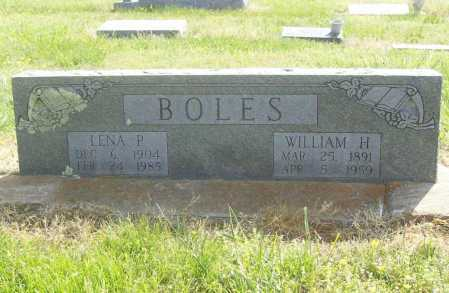 BOLES, WILLIAM H. - Benton County, Arkansas | WILLIAM H. BOLES - Arkansas Gravestone Photos