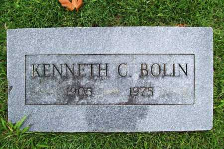 BOLIN, KENNETH COLDREN - Benton County, Arkansas | KENNETH COLDREN BOLIN - Arkansas Gravestone Photos