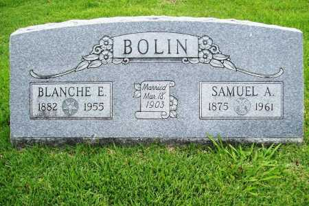 BOLIN, SAMUEL A. - Benton County, Arkansas | SAMUEL A. BOLIN - Arkansas Gravestone Photos