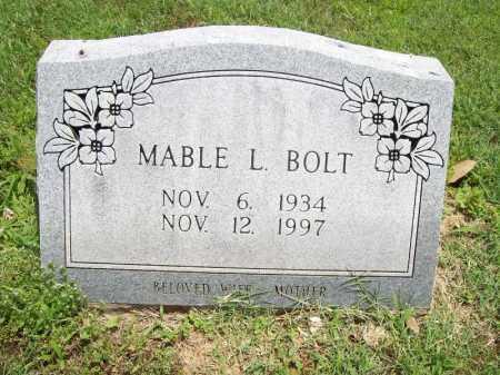 BOLT, MABLE L. - Benton County, Arkansas | MABLE L. BOLT - Arkansas Gravestone Photos