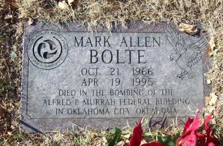 BOLTE (PUBLIC SERVANT), MARK ALLEN - Benton County, Arkansas | MARK ALLEN BOLTE (PUBLIC SERVANT) - Arkansas Gravestone Photos