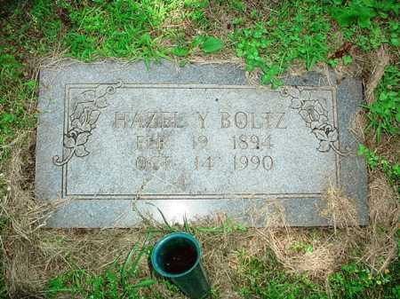 BOLTZ, HAZEL Y. - Benton County, Arkansas | HAZEL Y. BOLTZ - Arkansas Gravestone Photos