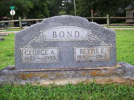BOND, GEORGE A. - Benton County, Arkansas | GEORGE A. BOND - Arkansas Gravestone Photos