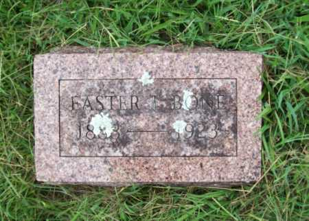 BONE, EASTER I. - Benton County, Arkansas | EASTER I. BONE - Arkansas Gravestone Photos