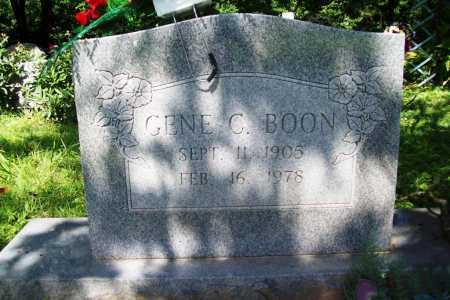 BOON, EUGENE  C. - Benton County, Arkansas | EUGENE  C. BOON - Arkansas Gravestone Photos