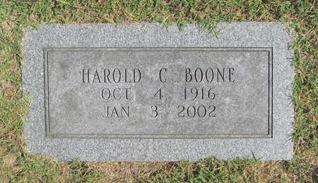 BOONE, HAROLD CALVIN - Benton County, Arkansas   HAROLD CALVIN BOONE - Arkansas Gravestone Photos