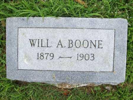 BOONE, WILL A. - Benton County, Arkansas | WILL A. BOONE - Arkansas Gravestone Photos