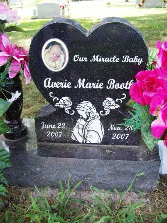 BOOTH, AVERIE MARIE - Benton County, Arkansas | AVERIE MARIE BOOTH - Arkansas Gravestone Photos