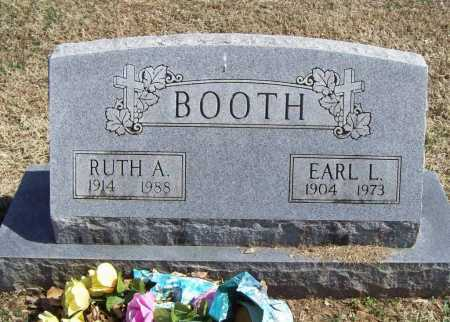 BOOTH, EARL LEE - Benton County, Arkansas | EARL LEE BOOTH - Arkansas Gravestone Photos