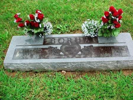 BORUM, BEULAH M. - Benton County, Arkansas | BEULAH M. BORUM - Arkansas Gravestone Photos