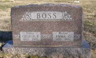 BOSS, EMMA C. - Benton County, Arkansas | EMMA C. BOSS - Arkansas Gravestone Photos