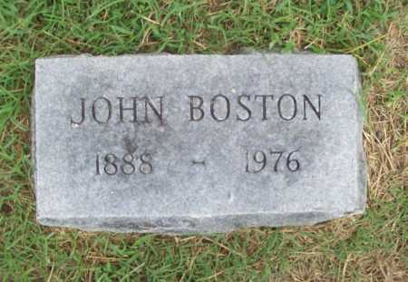 BOSTON, JOHN - Benton County, Arkansas | JOHN BOSTON - Arkansas Gravestone Photos