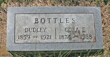 BOTTLES, DUDLEY - Benton County, Arkansas | DUDLEY BOTTLES - Arkansas Gravestone Photos