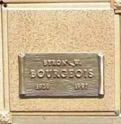 BOURGEOIS, BYRON W. - Benton County, Arkansas | BYRON W. BOURGEOIS - Arkansas Gravestone Photos