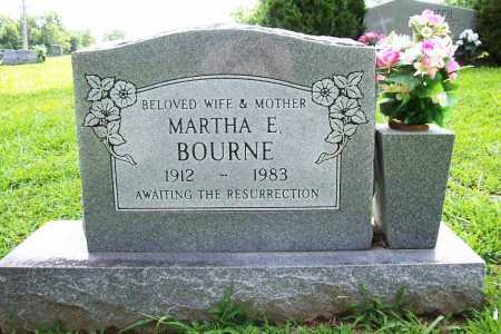BOURNE, MARTHA E. - Benton County, Arkansas | MARTHA E. BOURNE - Arkansas Gravestone Photos