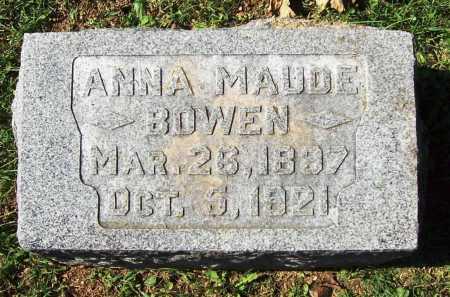 BOWEN, ANNA MAUDE - Benton County, Arkansas | ANNA MAUDE BOWEN - Arkansas Gravestone Photos