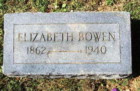 BOWEN, ELIZABETH - Benton County, Arkansas | ELIZABETH BOWEN - Arkansas Gravestone Photos