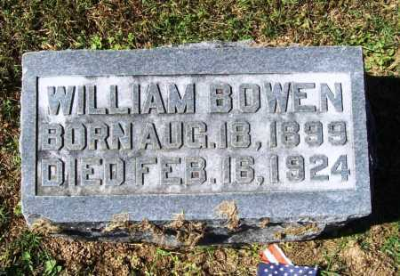 BOWEN, WILLIAM - Benton County, Arkansas | WILLIAM BOWEN - Arkansas Gravestone Photos